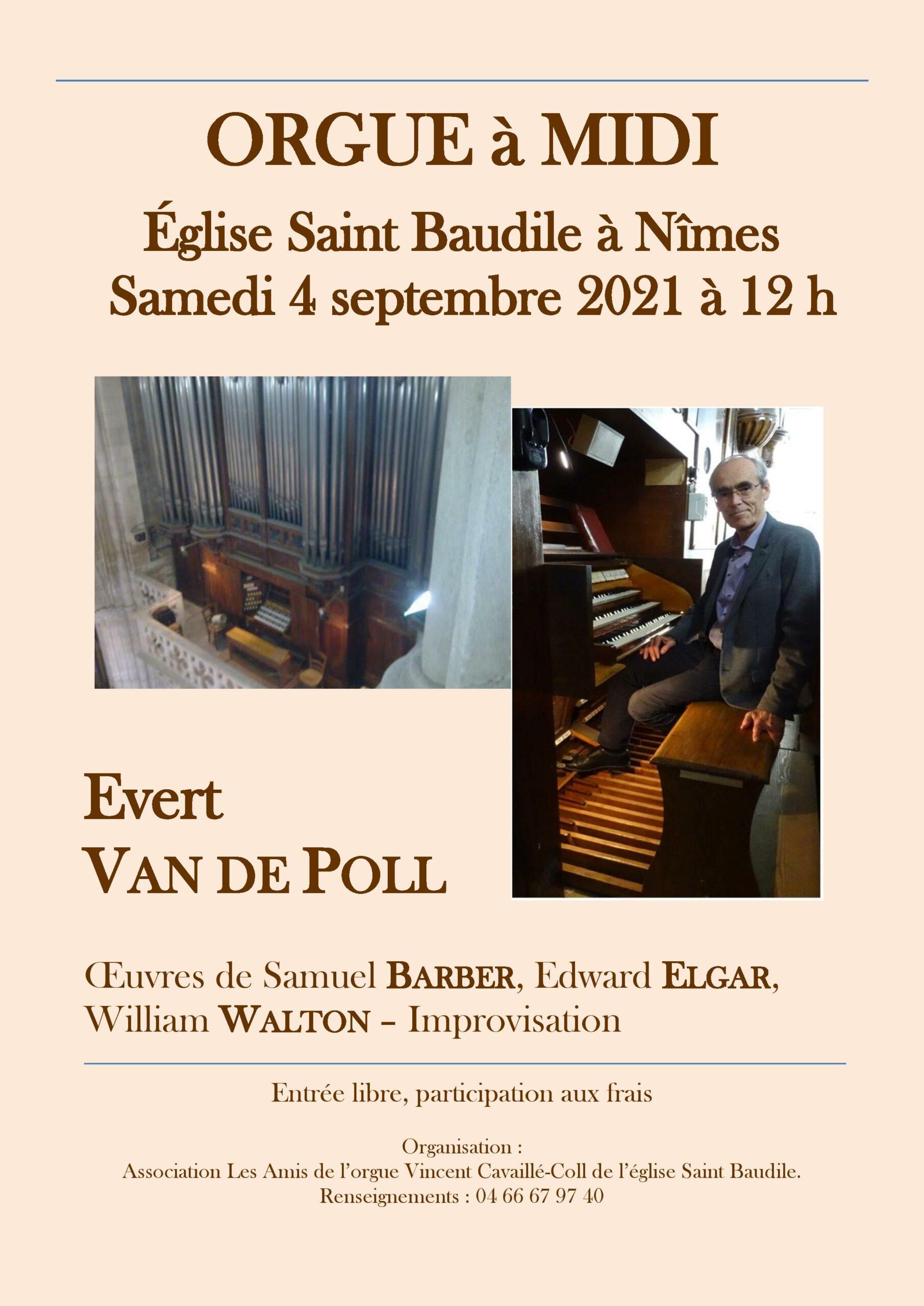 concert St Baudile-VdPoll